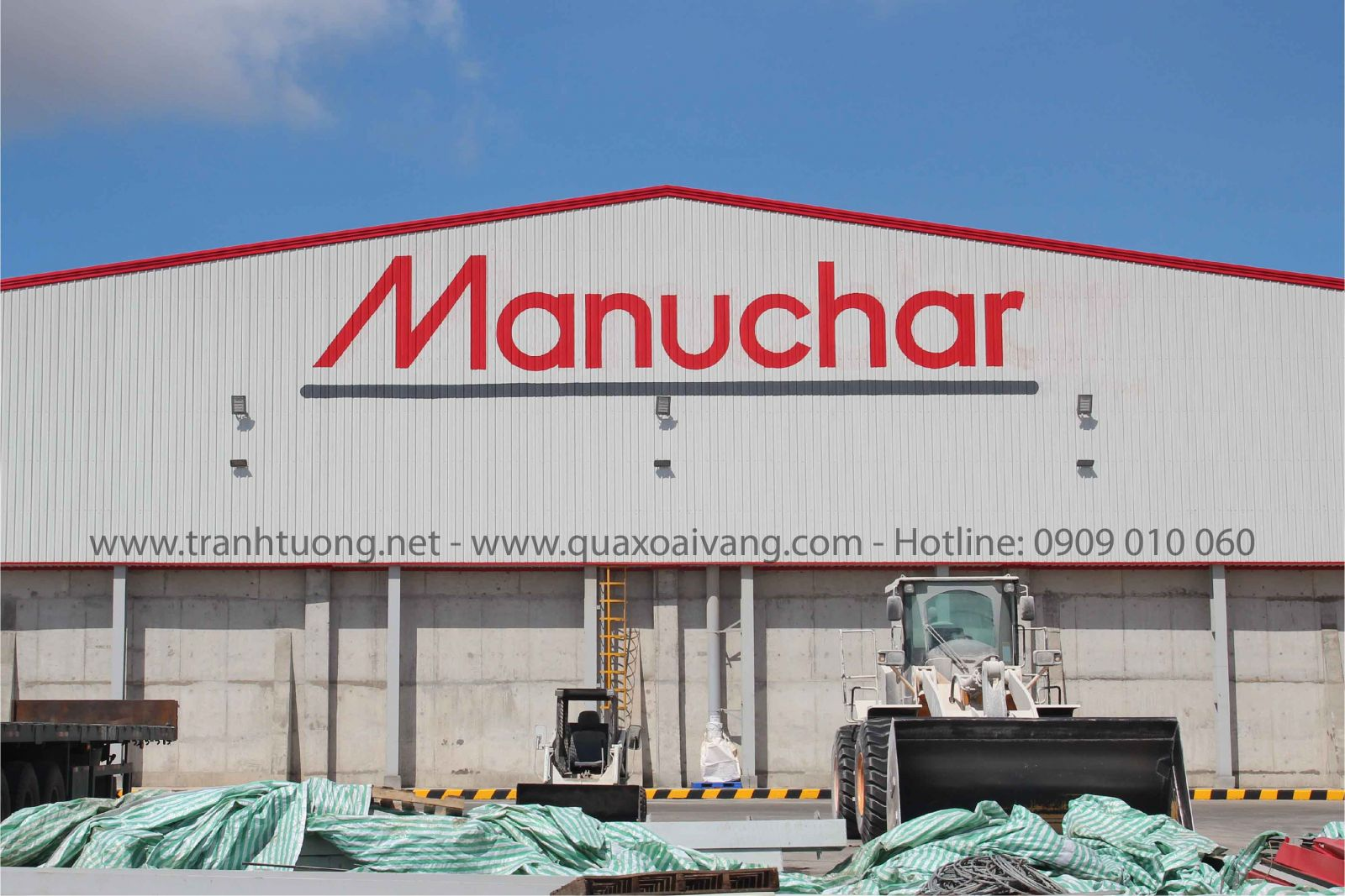 Vẽ logo công ty Manuchar